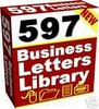 597 Ready To Use Business Letters Library + Resell Right