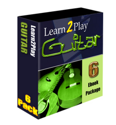 Product picture Learn To Play The Guitar. 6 eBooks