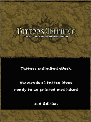 Product picture Tattoos Unlimited eBook Tattoo Designs + Resell Rights