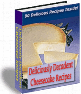 Product picture 90 Delicious Cheesecake Recipes eBook