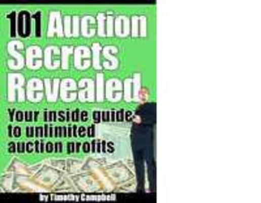 Product picture 101 eBay Seller Secrets Revealed